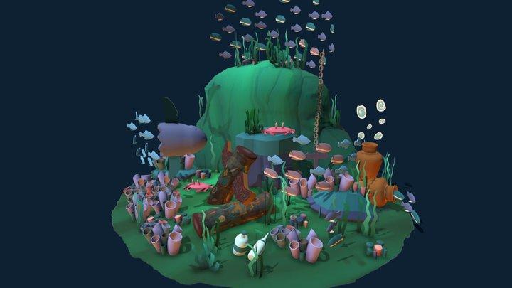 Sea life challenge 3D Model