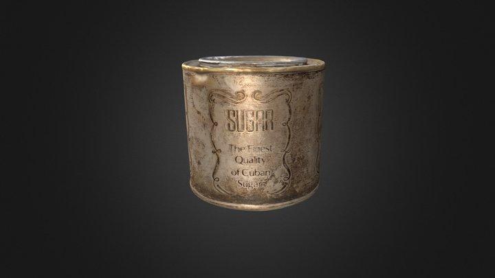 Cuban sugar box 3D Model