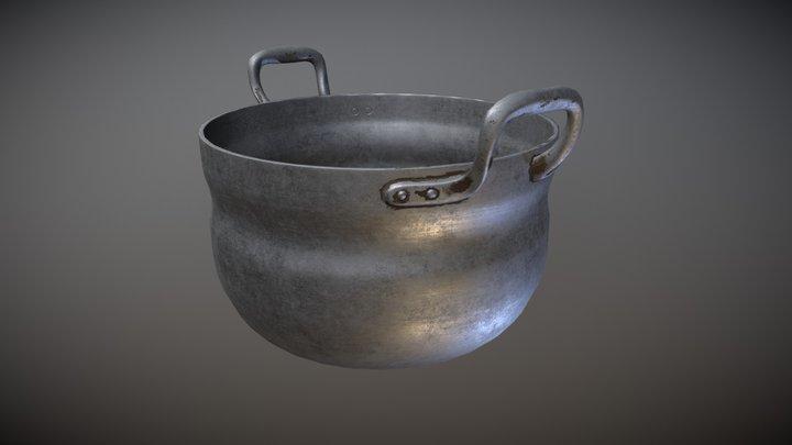 Pot02 3D Model