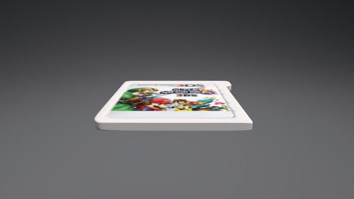 3DS Cartridge 3D Model