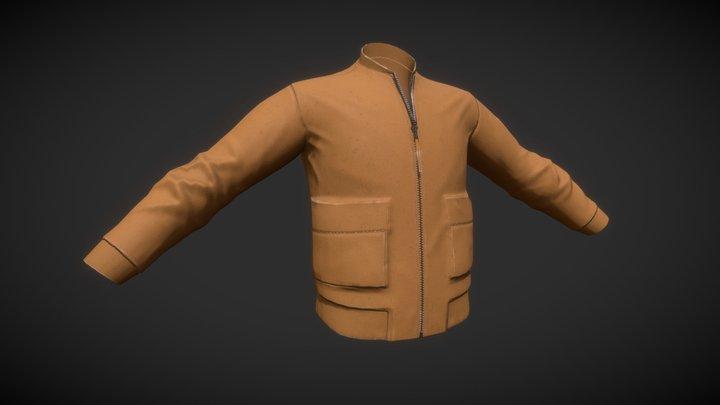 Wilt Bomber Jacket 3D Model