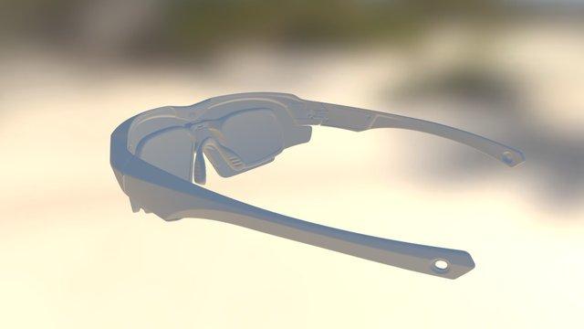 CTRL ONE with Prescription Mount 3D Model