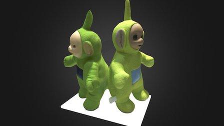 Peluches Teletubbies, contrefaçon et originale 3D Model