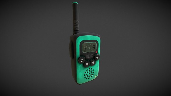 Klys- walkie talkie 3D Model