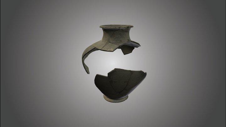 Romeinse pot 3D Model