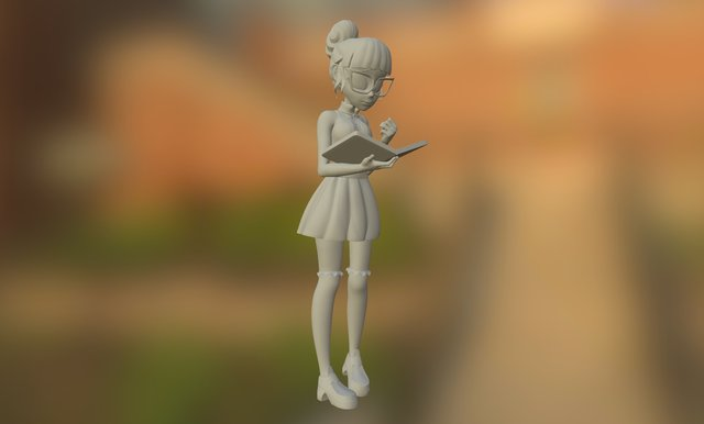 Equestria Girls Twilight Sparkle 3D Model
