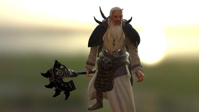 Ganjaarl 3D Model