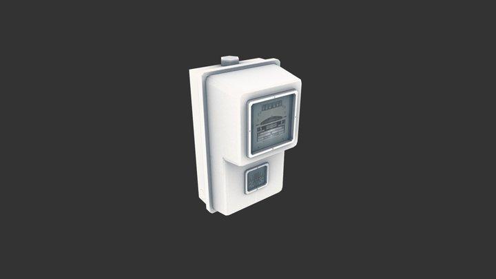 Electricmeter01 3D Model