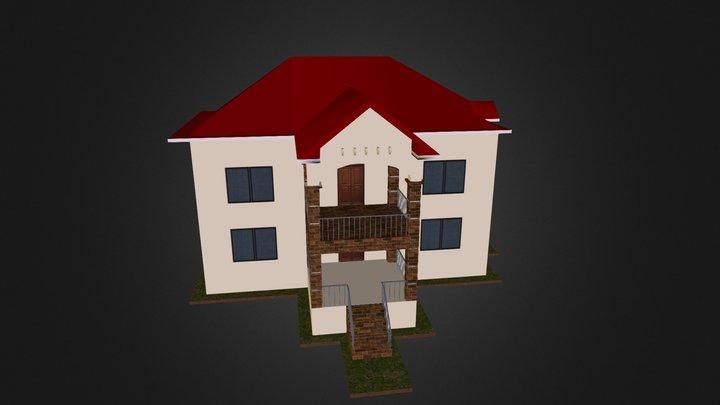 3 D House 3D Model