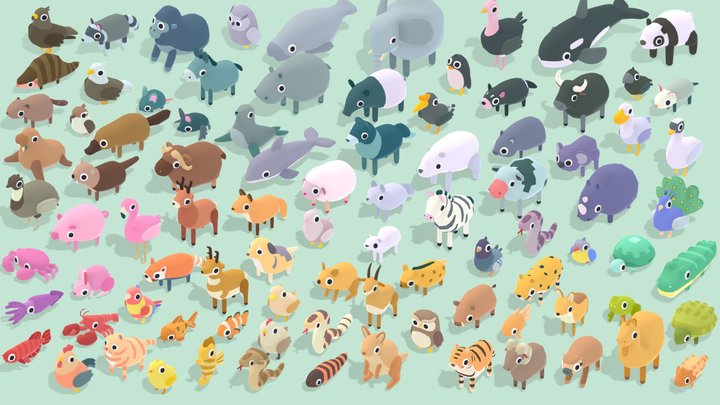 Quirky Series - Animals Ultimate Pack 3D Model