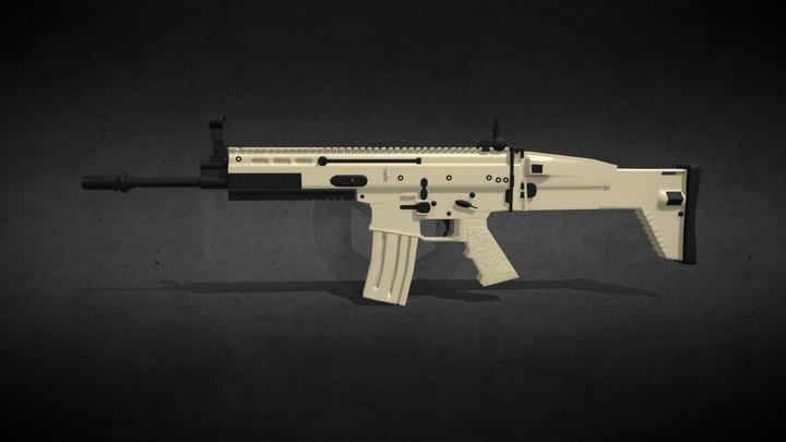FN SCAR 3D Model