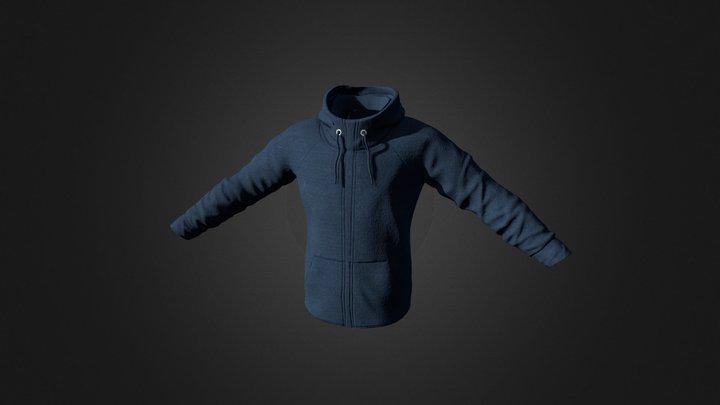 Nike Sweater 3D Model