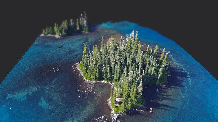 Emerald Island 3D Model