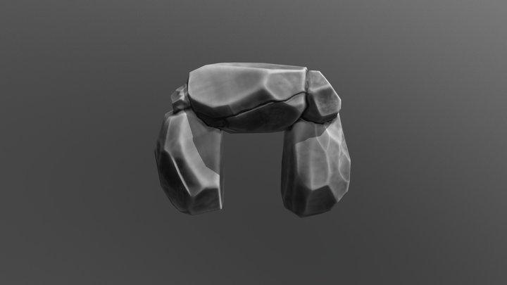 Rock 4 3D Model