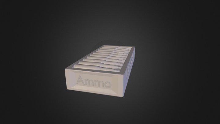 Caixa De Munição 3D Model