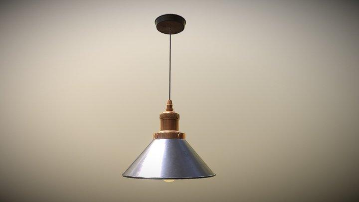 Lamp_02 lowpoly 3D Model