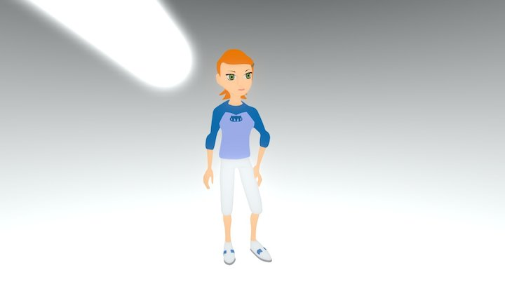 Gwen Tennison 3D Model