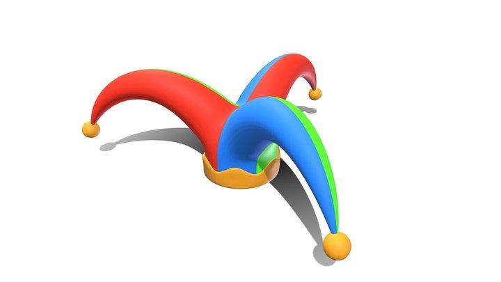 Clown Hat 3D Model