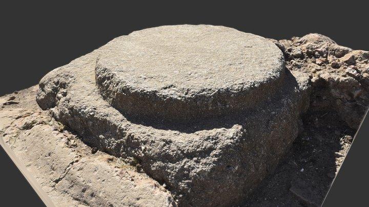 Roman Column base 3D Model