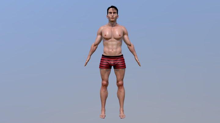 BENNY CHARACTER 3D Model