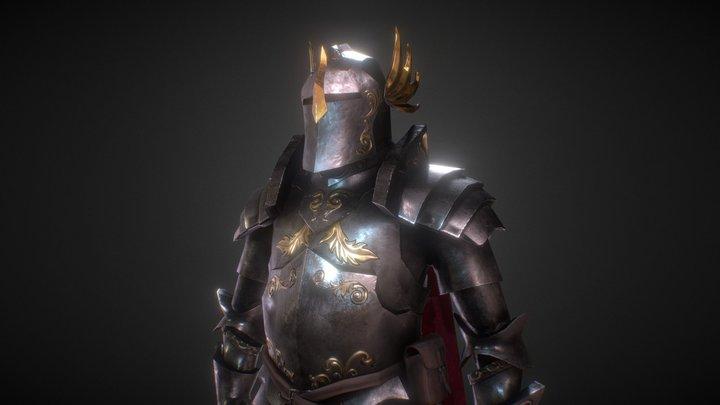 Paladin armor 3D Model