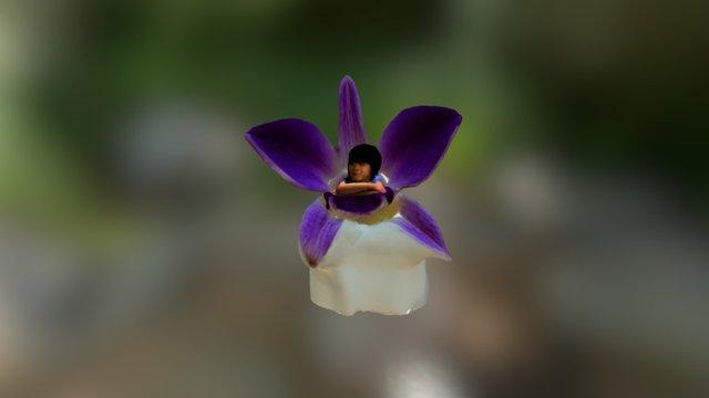 flower baby 3D Model