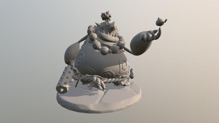 The good Oni - Figure 3D Model
