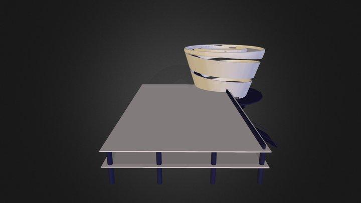 pabellon EBXDCP 3D Model
