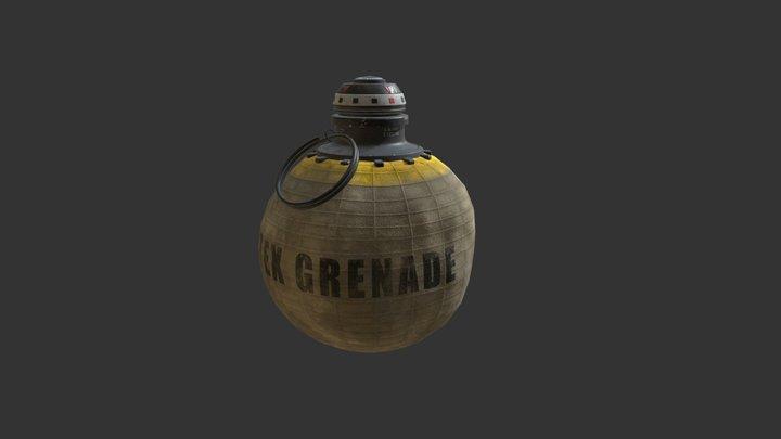 Semtex Grenade 3D Model