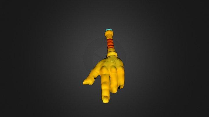 Lion Scepter 3D Model