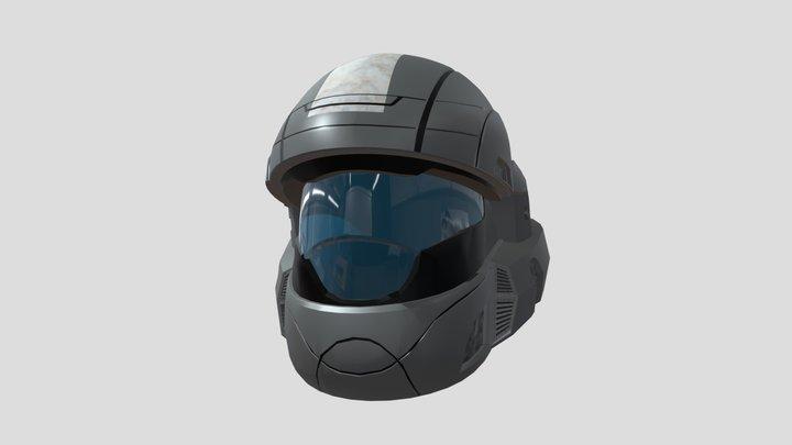 ODST Helmet from HALO 3D Model