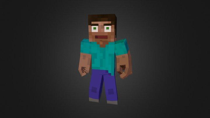 Steve 3D Model