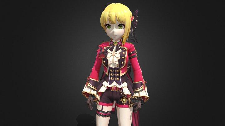 Miyamoto Frederica 3D Model