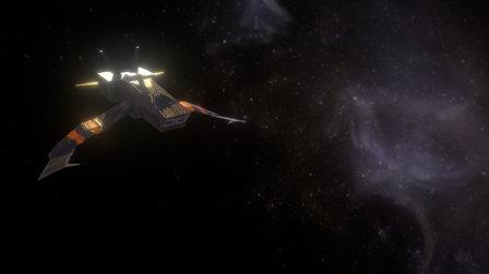 Space Warfare Fighter 3D Model