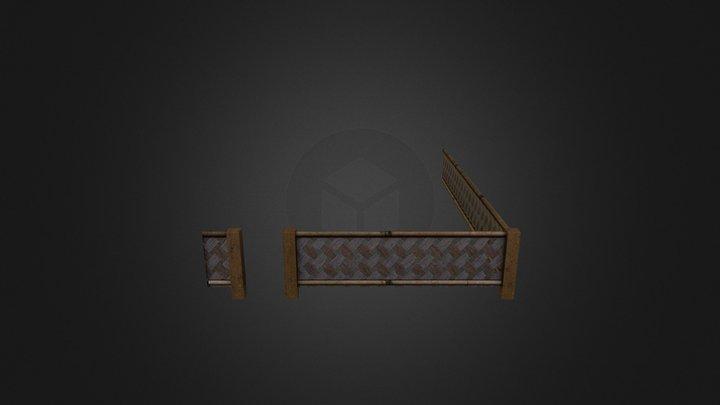 Fence (House 02) - City Scene 3D Model