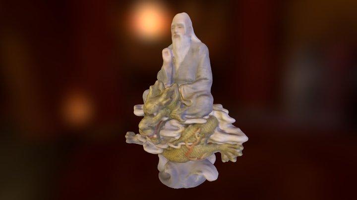 SenseObjects - Dragon Statue 3D Model