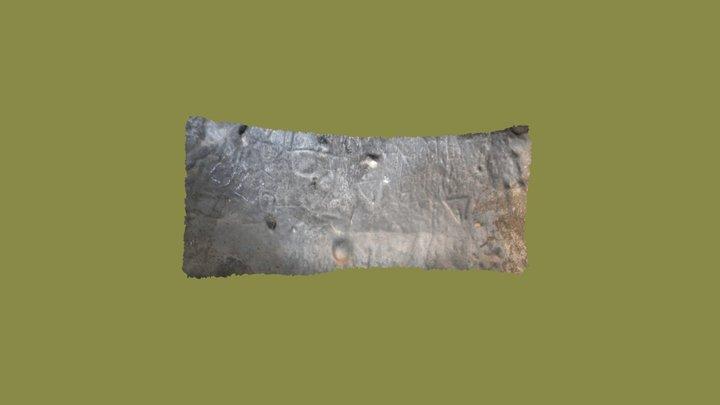 Panel Cueva de los Grabados Silva 3D Model