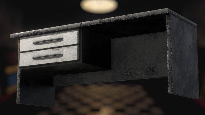 FNaF 1 Office - DESK 3D Model