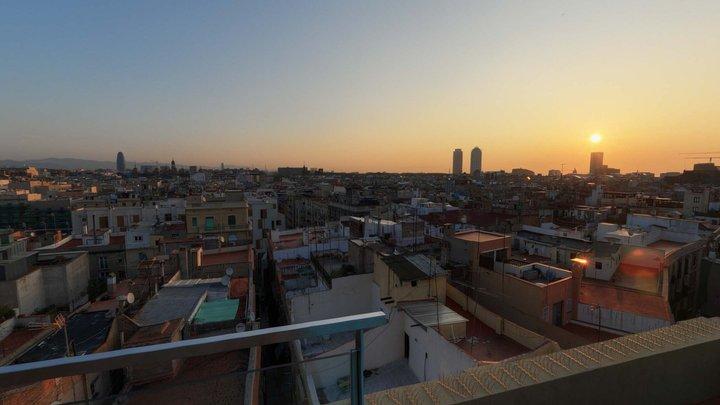 Sky Pano - Barcelona Rooftops 3D Model
