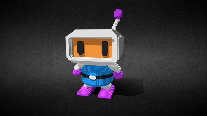 Bomberman 3D Model