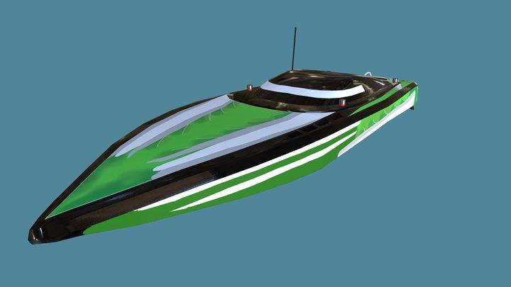 rc boat 3D Model