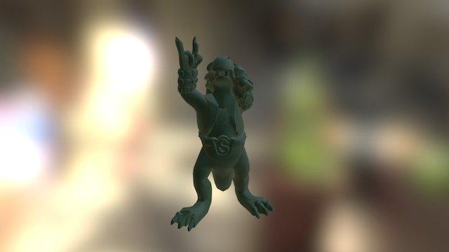 Mr Heavysaurio 3D Model