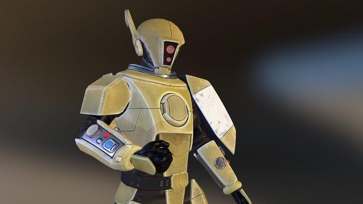 FanArt - Tau Fire Warrior 3D Model