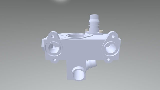 Thermostaat 3D Model