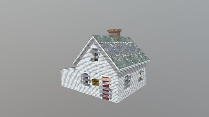 Farmhouse-old 3D Model