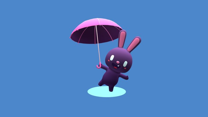 Bunny Yo 3D Model
