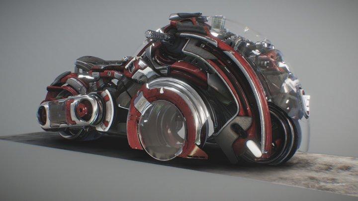 Cosmic´s Spacebike 3D Model