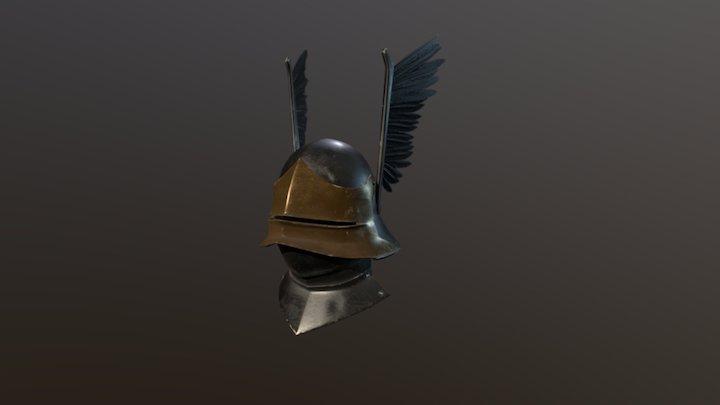 Sallet helmet 3D Model