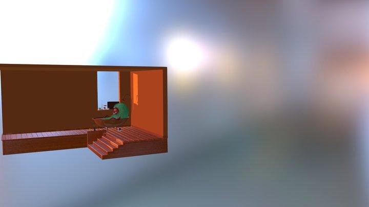 MONSTRUOUS BOY 3D Model