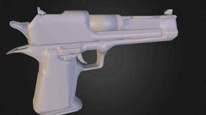 Pistol N E Lowpoly31 3D Model